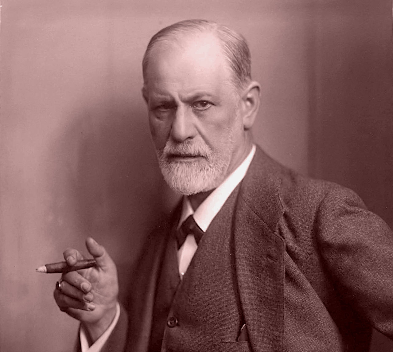Photographic portrait of Sigmund Freud